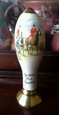 Minature Stoneware China Mead Bottle, Ye Old Pub Handle,