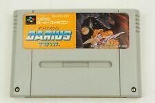 DARIUS TWIN SNES TAITO Nintendo Super Famicom From Japan