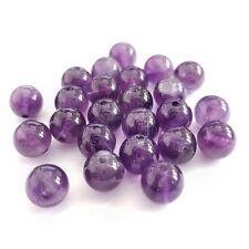 Perles pierre semi précieuse naturelle améthyste