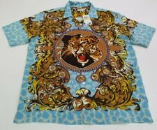 LRG LIFTED RESEARCH GROUP MENS TIGER BUTTON DOWN SIZE MEDIUM NEW