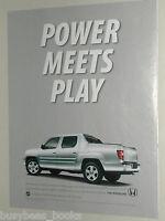 2010 HONDA RIDGELINE advertisement, Honda Ridgeline pickup truck