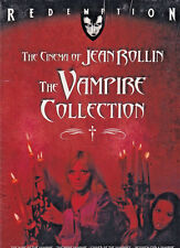 The Cinema of JEAN ROLLIN: THE VAMPIRE COLLECTION  (DVD 2014 4-Disc Set) (E)