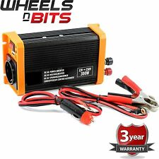 12 Volt Power Inverter DC AC & USB output 12V 230V 300W Continuous 600 W Peak