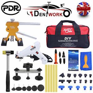 DIY Dent Puller Lifter & Bridge 33PCS Car Body Paintless Removal Repair Kit PDR