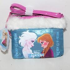 Borsa Frozen Disney Flat Shoulder Bag  borsetta bambina elsa