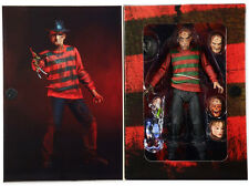 "A Nightmare on Elm Street Ultimate Freddy 7"" figure 30th Anniv. horror NECA"