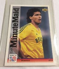 1994 Upper Deck World Cup Minute Maid #5 Romario Soccer Card