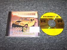 1999-2000 Hummer H1 SUV Shop Service Repair & Parts Catalog Manual DVD 6.5L V8