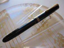 BOHLER 54 GOLD BLACK BARREL OB GOLD NIB FOUNTAIN PEN