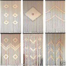 bamboo curtains blinds ebay. Black Bedroom Furniture Sets. Home Design Ideas