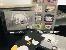 Vintage Sanrio Badtz Maru Mini Letter Set Paper, Pencil & Picture Stickers 1996