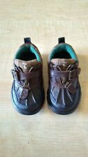 Ralph Lauren POLO Little Boys Brown Leather Low Top Duck Boots - Size 6.5