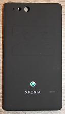 Akkudeckel  Sony Xperia Go ST27i Akkufachdeckel BackCover schwarz 1255-5117