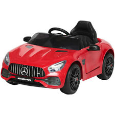 Auto Macchina Elettrica per Bambini Mercedes AMG GT 12V Colore Rosso 2 Motori