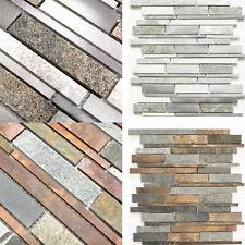 Natursteinmosaik Verblender Mosaikfliesen Küchenrückwand Wandverblender Quarz