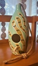 Beautiful Green Boho Ceramic Bird House - Opalhouse at Target Sold Out Tropical