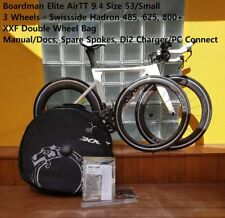 Triathlon / TT Bike Complete Kit – Boardman Elite AirTT 9.4 + Swisside Wheelsets