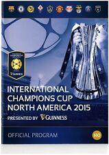 2015 CHAMPIONS CUP INCL BARCELONA CHELSEA MAN UTD BENFICA - PARIS ST GERMAINE