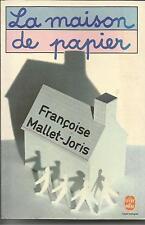 FRANCOISE MALLET-JORIS LA MAISON DE PAPIER