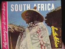 Native Life in South Africa vintage travel brochure Basuto Zulu Swazi