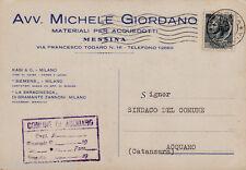 #MESSINA: testatina- AVV. MICHELE GIORDANO- materiali per acquedotti