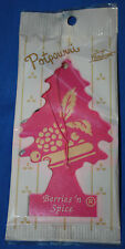 2PC LITTLE TREE AIR FRESHENER BERRIES AND SPICE SCENT CAR HOUSE APARTMENT