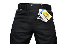 Pantaloni poliestere con protezione ginocchia per motociclista Uomo