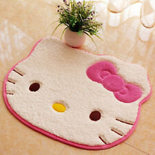 Hello Kitty Non-slip Cartoon Carpet Entrance Doormat Bathroom Kitchen Plush Rugs