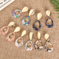 Bohemian Acrylic  Earrings Acetate Ear Stud Resin Geometric Jewelry Dangle Drop