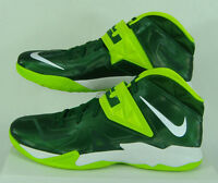 New Mens 18 Nike Zoom Soldier VII TB Lebron Green High Top Shoes $145 599263-300