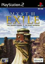 Myst III: Exile-Box Version | PlayStation 2 PS2 Used