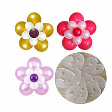 10 pcs Balloon flower clips accessories tie holder for Wedding Party decoration