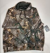 Realtree Hoodie Green Camo Pullover Hunting Mens Fleece NEW