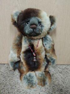 "Charlie Bears 2013 Plush Collection Fabian 15.5"" Rare HTF"