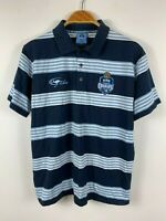 NSW State Of Origin Blues Mens Polo Shirt Size Medium By Classic Short Sleeve VB