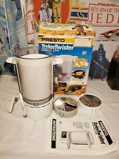 PRESTO TATERTWISTER Electric Curly Fry Cutter Potato Spiral Slicer #02930-NEW