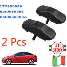1T0955986 2Pcs Ugello d'acqua per Getto di Rondella Lavavetri Adatto per VW SEAT