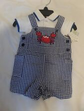 Baby Boy's 2 Piece Jumper and Onsie by Nursery Rhyme, size 3 Mos, NWT