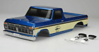 RC 1/10 PICK UP Truck BODY 1976 FORD F150 FINISHED BODY -BLUE- 324MM