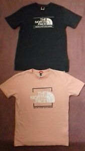 Boys North Face T Shirts X2 Bundle Age 13-14 Years