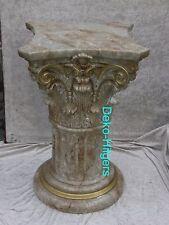 Säule Stuckgips Dekosäule Podest Tisch Wohnen Möbel Säulen Deko 1021 Optik Marmo
