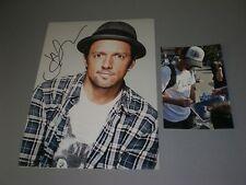 Jason Mraz signed signée Autograph autographe sur photo 20x28 en personne
