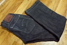 Men's G-STAR MODERNIST ARMY RADAR STRAIGHT Blue Jeans Size W30 L34
