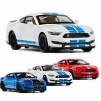 1:32 Ford Mustang Shelby GT350 Model Car Diecast Toy Vehicle Pull Back Sound Kid