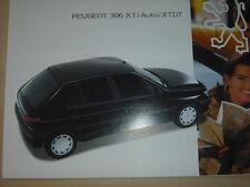 60458) Peugeot 306 XR XRD XRDT Prospekt 12/1993