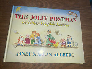 The Jolly Postman or Other People's Letters by Janet and Allan Ahlberg Large