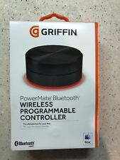 Griffin PowerMate Bluetooth Programmable Controller Black iTunes GarageBand Mac