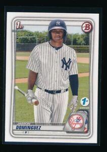 JASSON DOMINGUEZ 2020 Bowman 1st Edition Yankees Rookie Card RC QUANTITY AVAIL