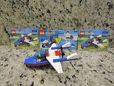 Lego Town Flight Aero Hawk (6536) Complete Set & Instructions