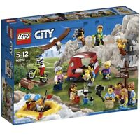 LEGO CITY 60202 PEOPLE PACK OUTDOOR ADVENTURES, NEW AND SEALED.